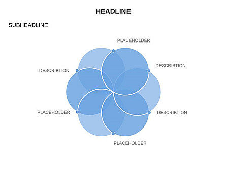 Venn Diagram Toolbox, Slide 7, 03428, Business Models — PoweredTemplate.com