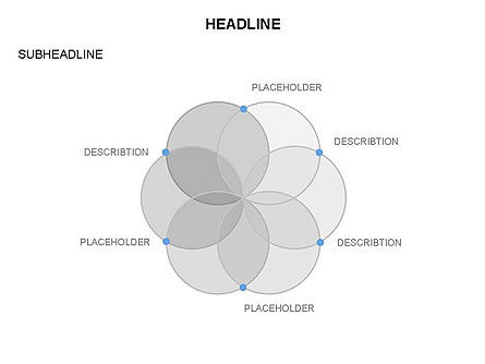 Venn Diagram Toolbox, Slide 8, 03428, Business Models — PoweredTemplate.com