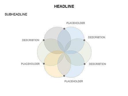 Venn Diagram Toolbox, Slide 9, 03428, Business Models — PoweredTemplate.com