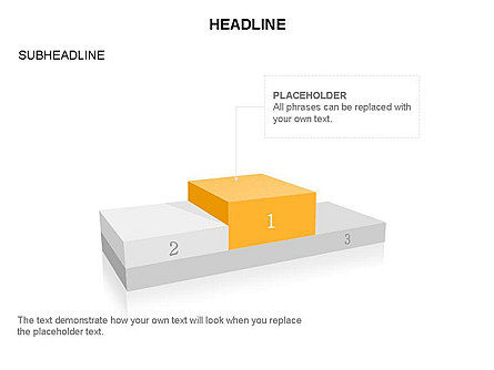 Winners Podium Diagram, Slide 17, 03429, Organizational Charts — PoweredTemplate.com