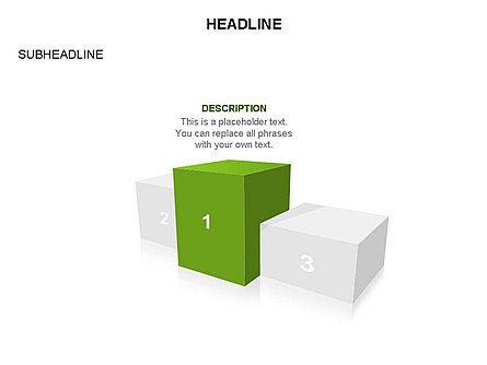 Winners Podium Diagram, Slide 22, 03429, Organizational Charts — PoweredTemplate.com