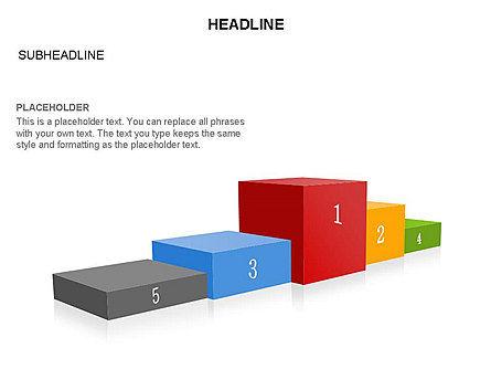Winners Podium Diagram, Slide 30, 03429, Organizational Charts — PoweredTemplate.com