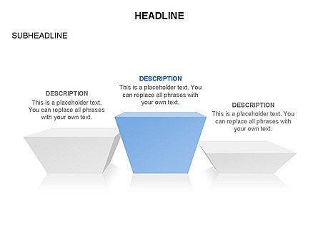Winners Podium Diagram, Slide 32, 03429, Organizational Charts — PoweredTemplate.com