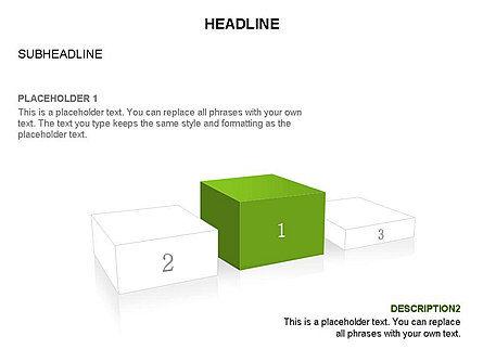 Winners Podium Diagram, Slide 35, 03429, Organizational Charts — PoweredTemplate.com