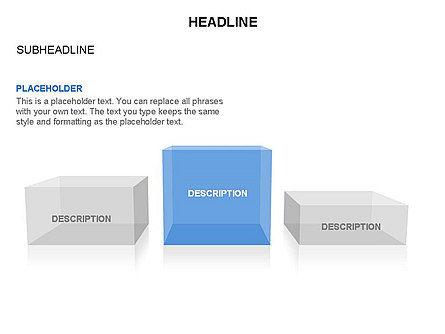 Winners Podium Diagram, Slide 36, 03429, Organizational Charts — PoweredTemplate.com