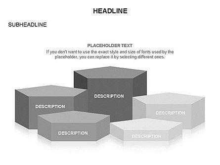 Winners Podium Diagram, Slide 37, 03429, Organizational Charts — PoweredTemplate.com