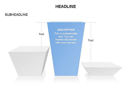 Winners Podium Diagram, Slide 38, 03429, Organizational Charts — PoweredTemplate.com