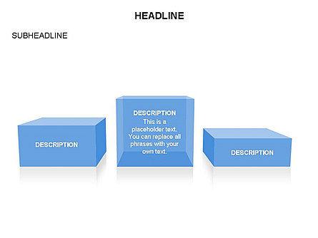 Winners Podium Diagram, Slide 39, 03429, Organizational Charts — PoweredTemplate.com