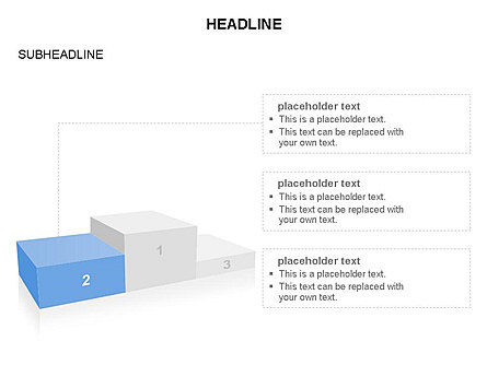 Winners Podium Diagram, Slide 4, 03429, Organizational Charts — PoweredTemplate.com
