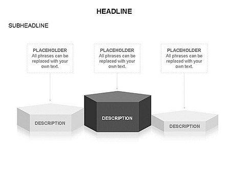 Winners Podium Diagram, Slide 40, 03429, Organizational Charts — PoweredTemplate.com
