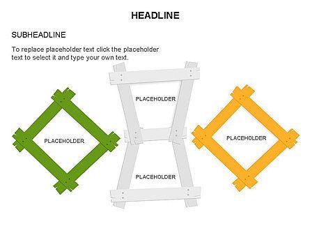Wooden Board Frames, Slide 24, 03430, Shapes — PoweredTemplate.com