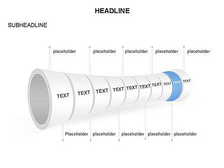 Sales Funnel Diagram, Slide 9, 03431, Business Models — PoweredTemplate.com
