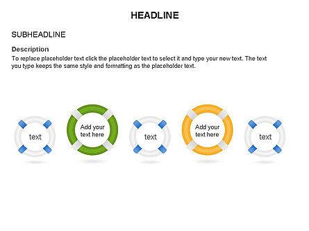 Lifebuoy Diagram, Slide 12, 03432, Business Models — PoweredTemplate.com
