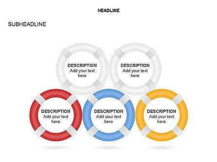 Lifebuoy Diagram, Slide 13, 03432, Business Models — PoweredTemplate.com