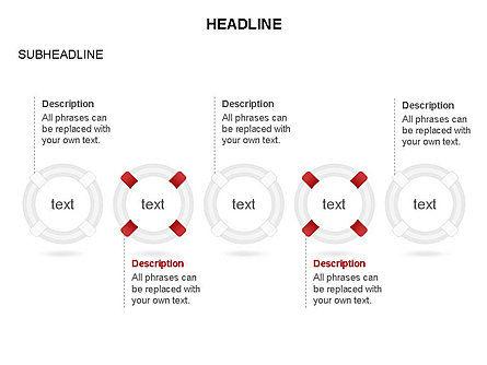 Lifebuoy Diagram, Slide 14, 03432, Business Models — PoweredTemplate.com