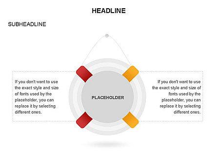 Lifebuoy Diagram, Slide 22, 03432, Business Models — PoweredTemplate.com
