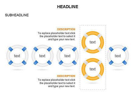 Lifebuoy Diagram, Slide 23, 03432, Business Models — PoweredTemplate.com