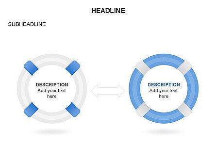 Lifebuoy Diagram, Slide 24, 03432, Business Models — PoweredTemplate.com
