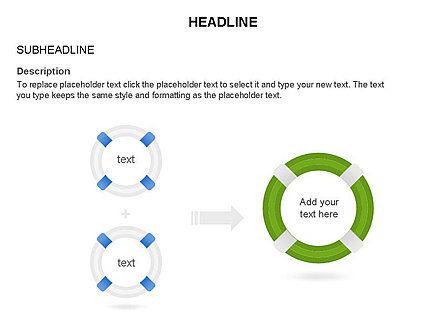 Lifebuoy Diagram, Slide 25, 03432, Business Models — PoweredTemplate.com