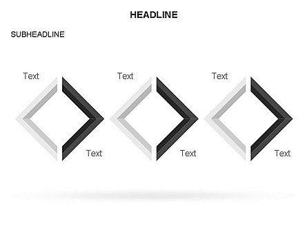 Rhombus Diagram Collection, Slide 10, 03435, Business Models — PoweredTemplate.com