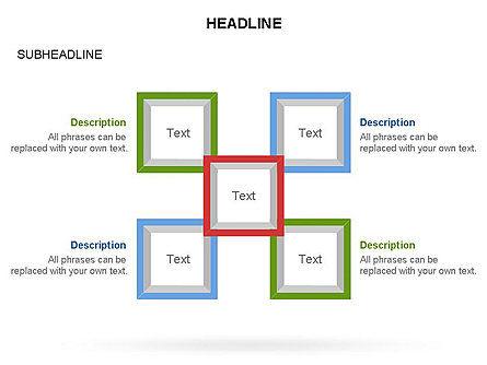Rhombus Diagram Collection, Slide 19, 03435, Business Models — PoweredTemplate.com