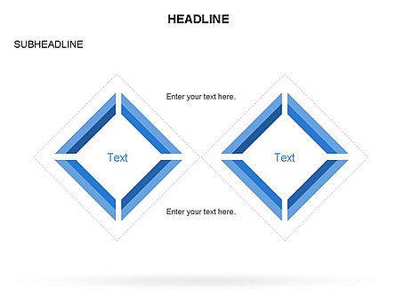 Rhombus Diagram Collection, Slide 21, 03435, Business Models — PoweredTemplate.com