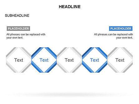 Rhombus Diagram Collection, Slide 23, 03435, Business Models — PoweredTemplate.com