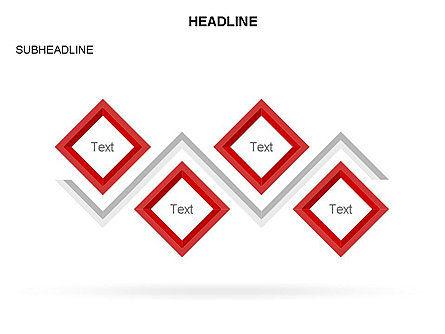 Rhombus Diagram Collection, Slide 7, 03435, Business Models — PoweredTemplate.com
