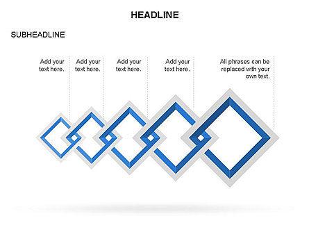 Rhombus Diagram Collection, Slide 8, 03435, Business Models — PoweredTemplate.com