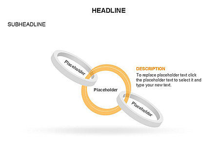 Rings and Chains Diagram, Slide 17, 03436, Stage Diagrams — PoweredTemplate.com