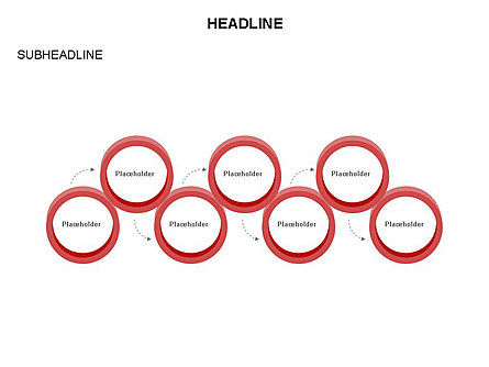Rings and Chains Diagram, Slide 26, 03436, Stage Diagrams — PoweredTemplate.com