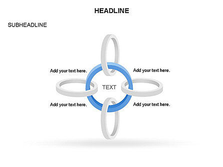 Rings and Chains Diagram, Slide 7, 03436, Stage Diagrams — PoweredTemplate.com