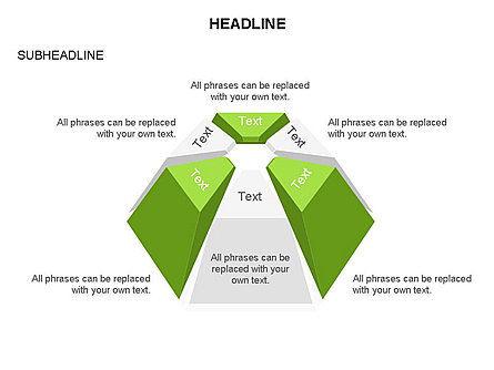 Dome Diagram, Slide 10, 03441, Shapes — PoweredTemplate.com