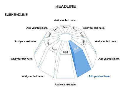 Dome Diagram, Slide 11, 03441, Shapes — PoweredTemplate.com