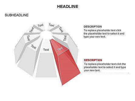 Dome Diagram, Slide 13, 03441, Shapes — PoweredTemplate.com