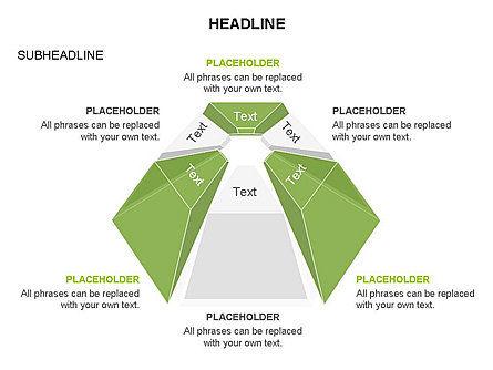 Dome Diagram, Slide 15, 03441, Shapes — PoweredTemplate.com