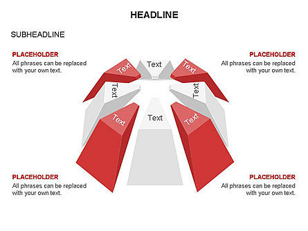 Dome Diagram, Slide 19, 03441, Shapes — PoweredTemplate.com