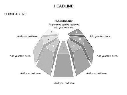 Dome Diagram, Slide 21, 03441, Shapes — PoweredTemplate.com