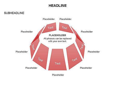 Dome Diagram, Slide 23, 03441, Shapes — PoweredTemplate.com