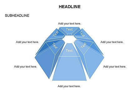Dome Diagram, Slide 24, 03441, Shapes — PoweredTemplate.com