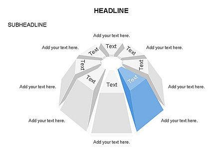 Dome Diagram, Slide 6, 03441, Shapes — PoweredTemplate.com