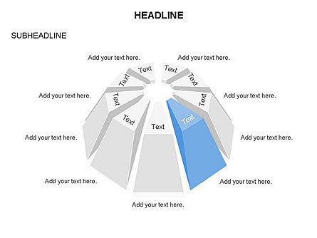 Dome Diagram, Slide 7, 03441, Shapes — PoweredTemplate.com