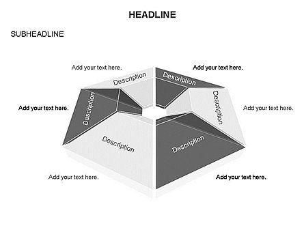 Cupola Diagram, Slide 13, 03442, Pie Charts — PoweredTemplate.com
