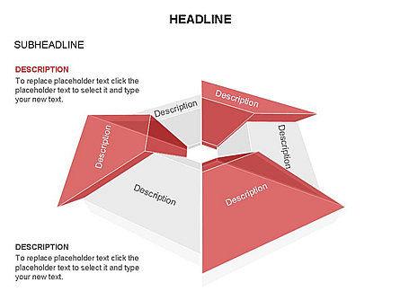 Cupola Diagram, Slide 14, 03442, Pie Charts — PoweredTemplate.com