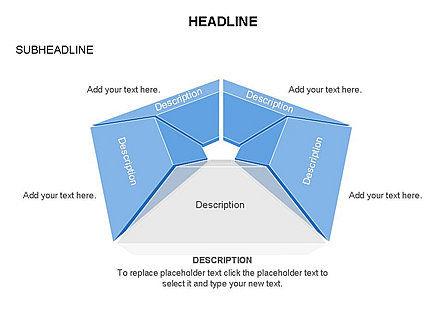 Cupola Diagram, Slide 17, 03442, Pie Charts — PoweredTemplate.com