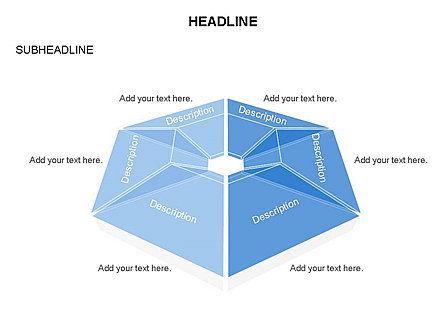Cupola Diagram, Slide 19, 03442, Pie Charts — PoweredTemplate.com