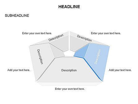 Cupola Diagram, Slide 2, 03442, Pie Charts — PoweredTemplate.com