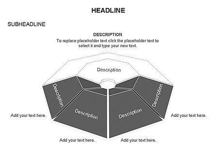Cupola Diagram, Slide 20, 03442, Pie Charts — PoweredTemplate.com