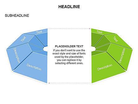 Cupola Diagram, Slide 21, 03442, Pie Charts — PoweredTemplate.com
