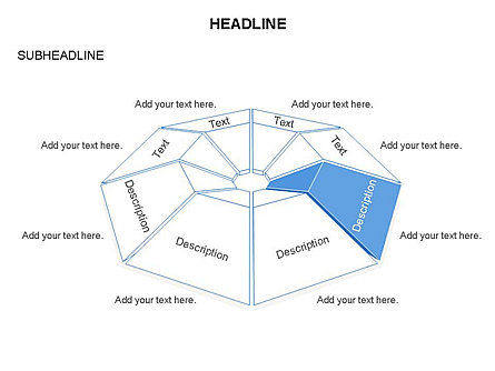 Cupola Diagram, Slide 22, 03442, Pie Charts — PoweredTemplate.com